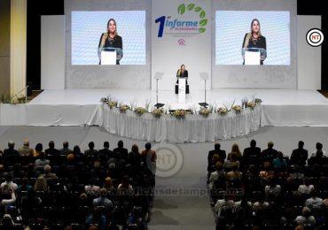 """""""Trabajamos en el DIF Altamira con absoluta convicción por servir'': Alma Laura Hernández"""