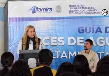 Presenta Alma Laura Amparán guía de Peces de Aguas Interiores de Altamira