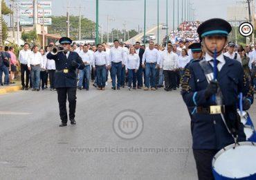 Preside Alma Laura Amparán conmemoración del CIX aniversario de la Revolución Mexicana