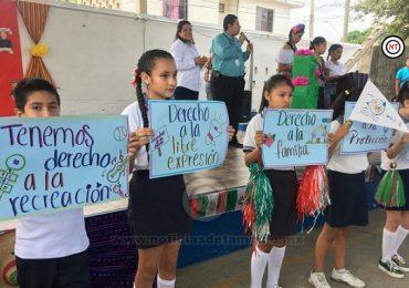 Refuerza DIF Altamira acciones a favor de los derechos de los niños