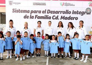 Centros asistenciales de DIF Madero reciben equipamiento