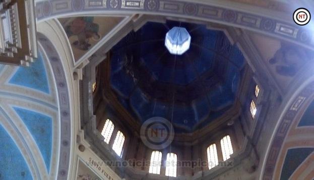 Aún no ha podido Diócesis recaudar 2 mdp para restaurar cúpula de Catedral