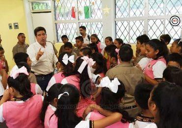 Lleva Mujeres Tamaulipas pláticas a estudiantes de 30 secundarias de la entidad
