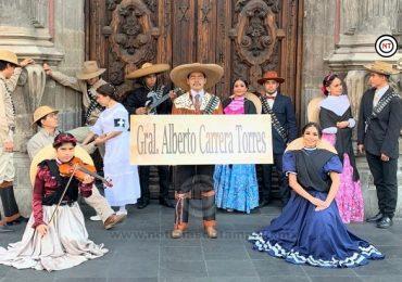Participa Tamaulipas en desfile conmemorativo revolucionario en Cdmx