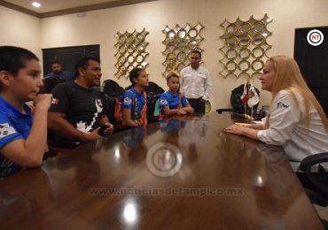 Total respaldo al deporte en Altamira