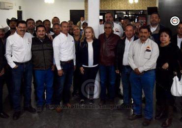 Respalda Sindicato Nacional de Petroquímicos trabajo de Gobierno de Altamira