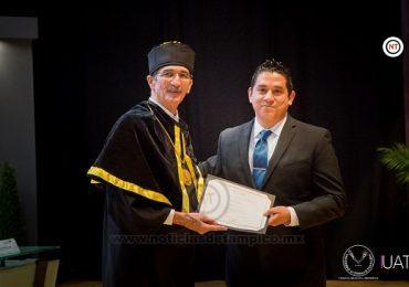 Entrega la UAT Premio al Investigador Joven 2019