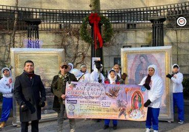 Llega Carrera Antorcha Guadalupana México- Nueva York 2019 a su destino