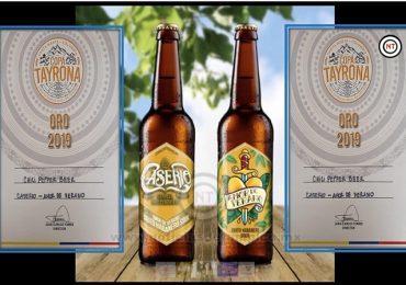 Conquista cerveza tamaulipeca medalla de oro en competencia internacional.