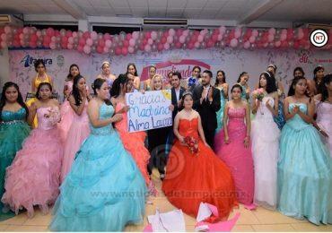 Cumple Alma Laura Amparán sueño de 30 jovencitas altamirenses