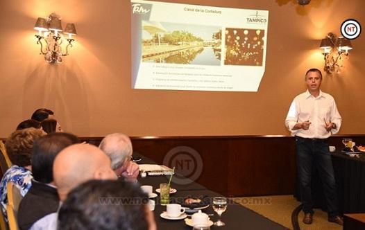 Ante Iniciativa Privada Presenta Chucho Nader las Principales Acciones de su Administración