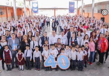 MEJORA EL ALCALDE ENRIQUE RIVAS CONDICIONES DE 40 ESPACIOS EDUCATIVOS