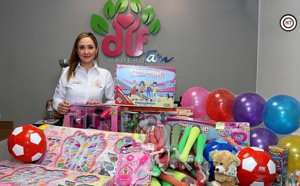 """""""Regala una Esperanza"""" campaña del DIF Madero para donar juguetes, dulces y piñatas"""