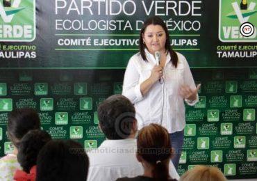 Reconoce Partido Verde importancia de la mujer.