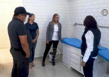 Rehabilitan y remodelan área médica de CEDES-Altamira