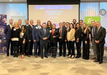 Difunden importancia del turismo en Tamaulipas ante empresarios texanos