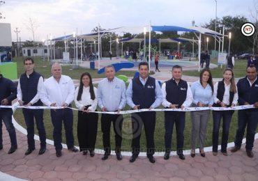 Abre Gobierno de Tamaulipas nuevo Parque de Bienestar en El Mante.