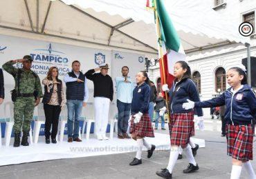 Conmemoran en Tampico el CCLI Aniversario del Natalicio del Gral. Ignacio Allende y Unzaga