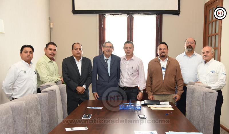 Fortalece Ayuntamiento de Tampico Alianzas en Cuidado del Medio Ambiente