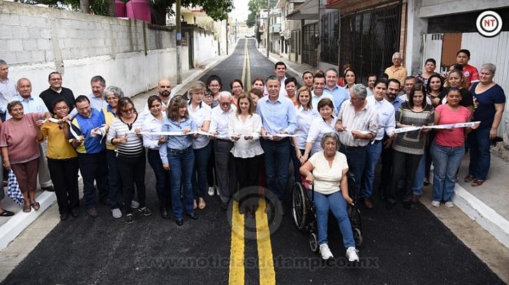 Con Obras que Transforman Seguiremos Construyendo la Grandeza de Tampico; Chucho Nader