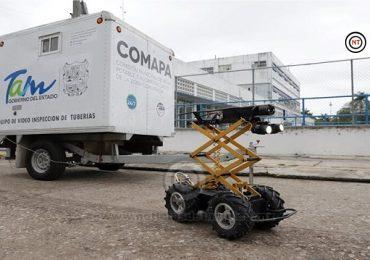 COMAPA Zona Conurbada utilizará Robot para supervisar la Red Hidrosanitaria