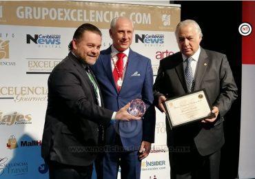 Recibe Tamaulipas Premio Excelencias Turísticas