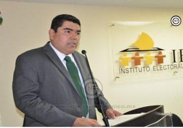 Protesta como Presidente del IETAM, Juan José Ramos Charré