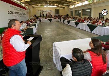 Aprueba PRI acuerdos en sesión del Consejo Político Estatal
