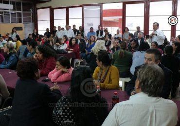 Participan trabajadores de la educación en consulta para integrar pliego nacional de demandas