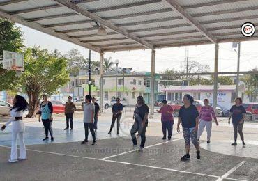 Impulsa Gobierno de Madero Activación Física de Abuelitos
