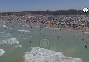 Efectiva labor de vigilancia en Playa Miramar