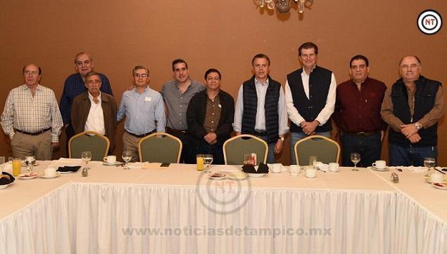En la Transformación de Tampico, Esencial la Suma de Todos los Sectores; Chucho Nader