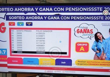 REPARTE PENSIONISSSTE 10.7 MILLONES DE PESOS A CUENTAHABIENTES PARA AUMENTAR EL FONDO DE SU RETIRO
