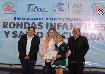 Promueve DIF Altamira las rondas tradiciones mexicanas