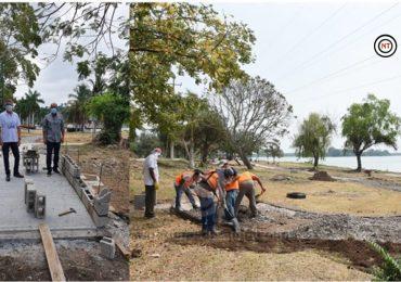 Continúan los Trabajos de Modernización en el Parque Recreativo Fray Andrés de Olmos