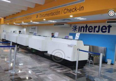 Cancelan vuelos hacia México y Monterrey