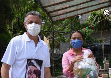 Encabeza Chucho Nader Jornada de Limpiezay Entrega de Despensas a Cientos de Familias