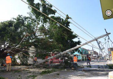 Por Culpa de Tormenta Eléctrica Media Zona Conurbada sin Principales Servicios