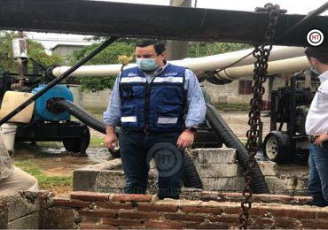 Atiende Gerente reportes en cárcamo Germinal 2 Norte