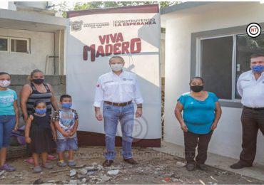 Maderenses continúan siendo beneficiados con viviendas del programa FISM