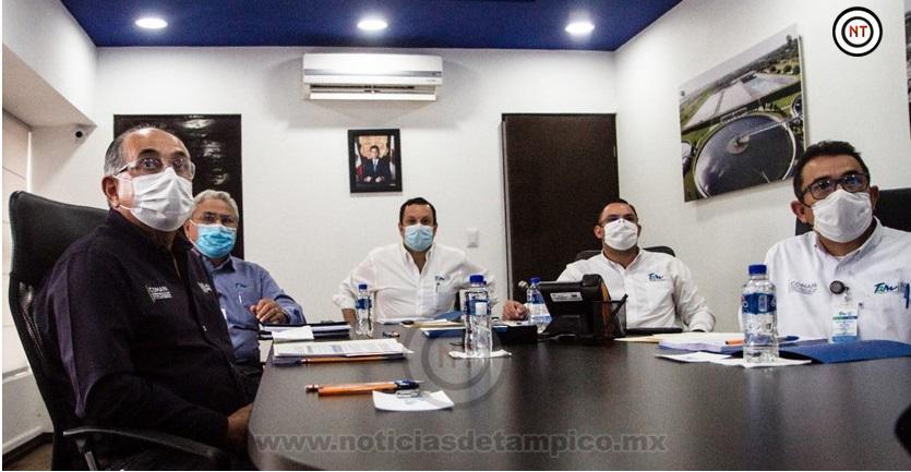 Se realizó la segunda sesión del consejo de administración de la COMAPA Zona Conurbada