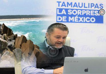 Difunde Turismo Tamaulipas acciones y planes previos a la reactivación del sector