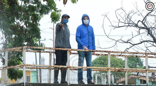 Supervisa Chucho Nader Afectaciones Causadas por las Lluvias