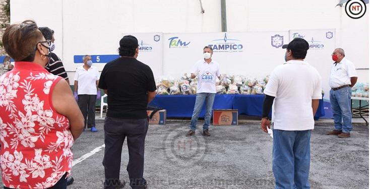 Apoya Chucho Nader a Choferes de las Rutas Isleta y Tampico – Águila