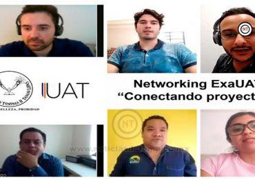 Emprendedores ExaUAT comparten experiencias a estudiantes