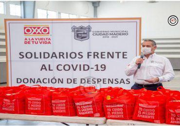 Gobierno Municipal y empresarios dan certidumbre a familias vulnerables