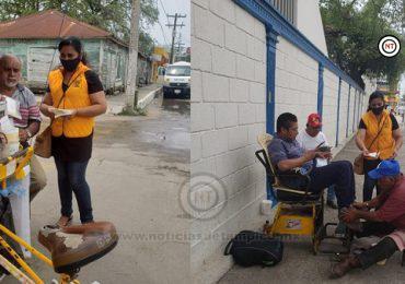 Unen esfuerzos y donan cubrebocas a personas vulnerables de Altamira