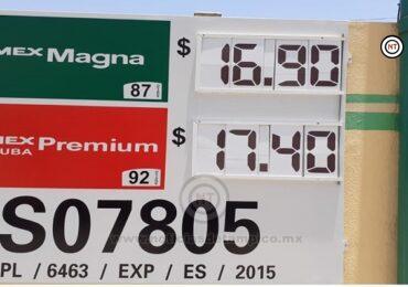 Sube precio de gasolina en Victoria.