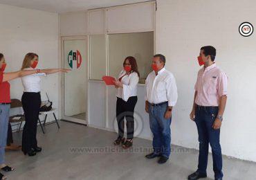 Refuerza PRI estructura municipal en Matamoros y entregan nombramiento del ONMPRI en Río Bravo