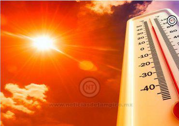 Se espera onda de calor con temperatura mayor a 40 grados en Tamaulipas